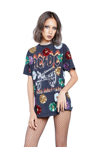 Flower Power Tour Tee - AC/DC