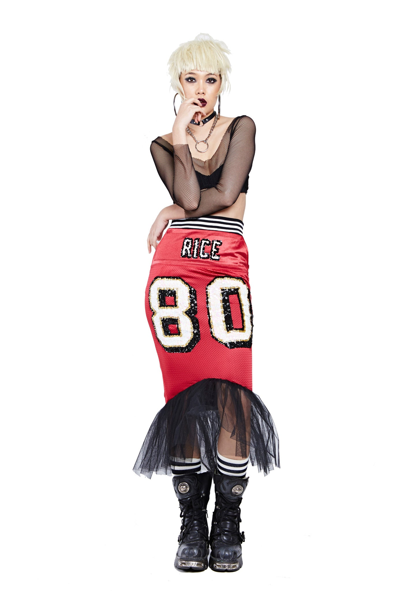Mermaid Football Skirt - San Francisco 49ers