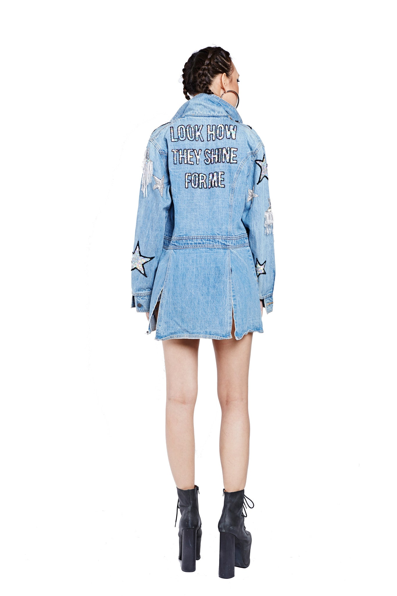 Shine for Me Denim Jacket