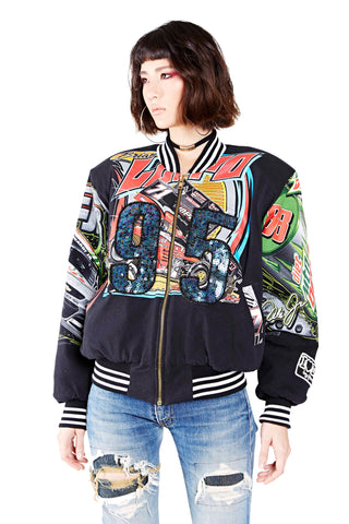 Hybrid Racing Bomber Jacket - '88' Mountain Dew