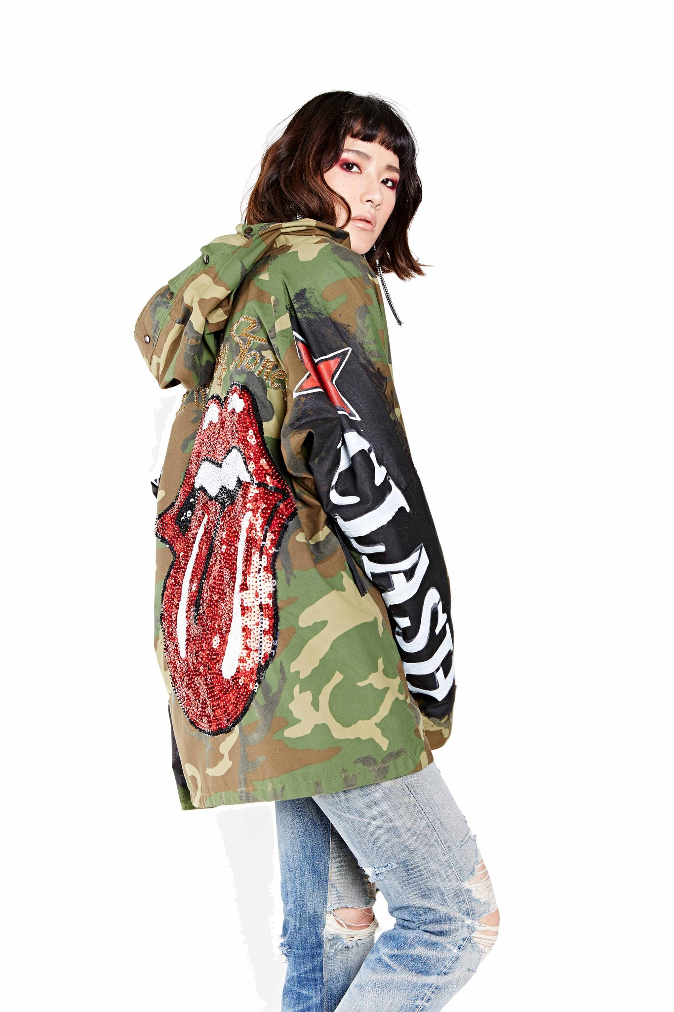 Army Rock Parka - Green Camo