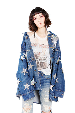 Punk Rocker Military Jacket - Long