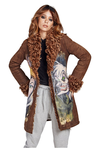 Villains Coat - Brown Short 2017 - I LOVE DIY by Panida