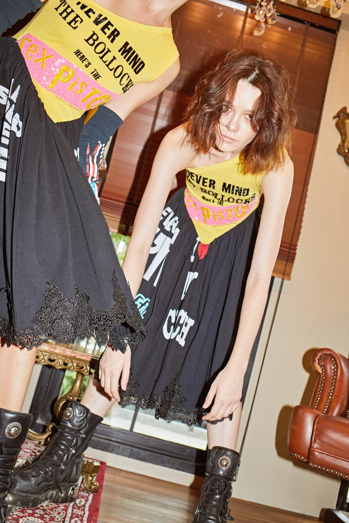 """Bollocks"" Dress - I LOVE DIY by Panida"