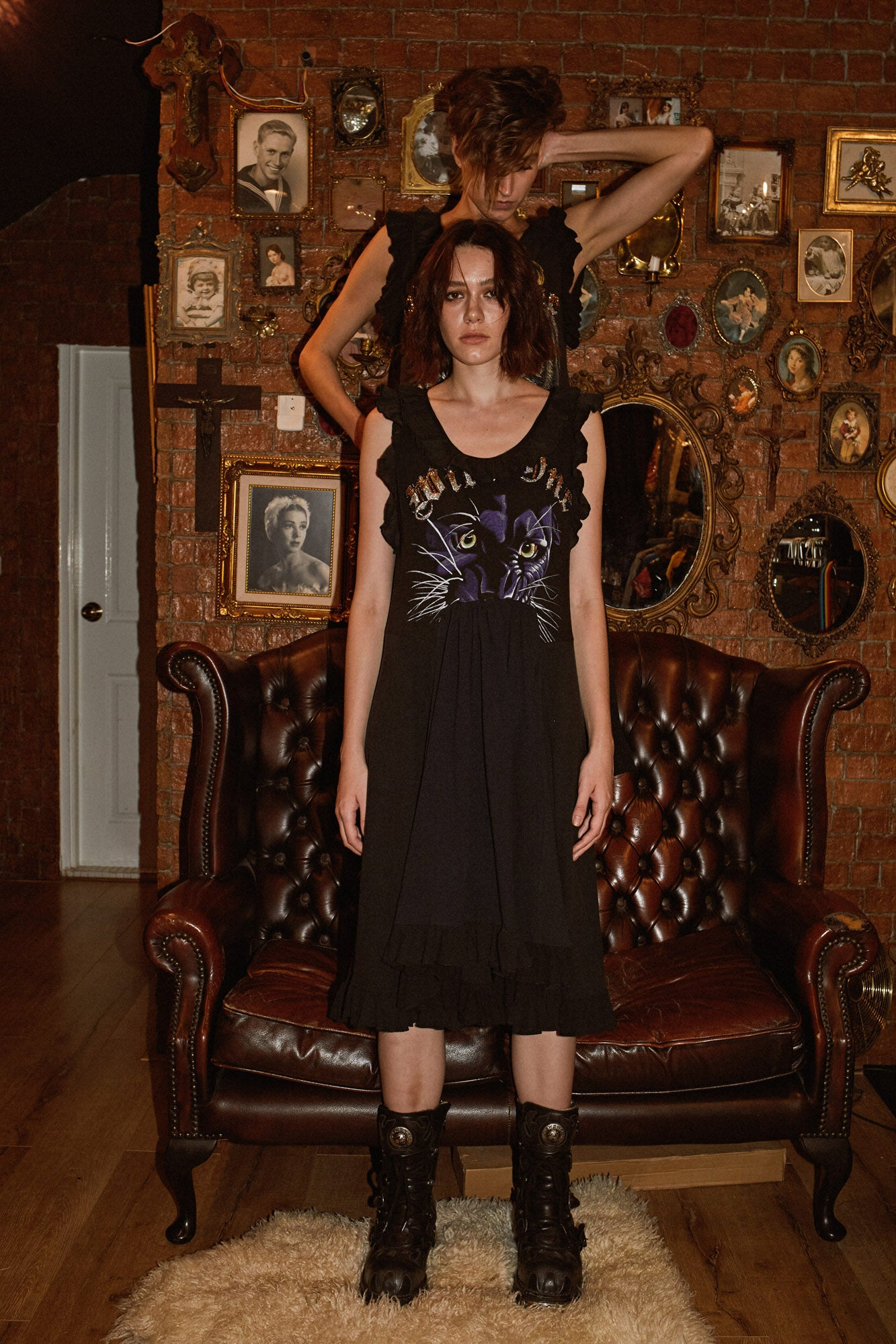 Wild One Dress - Panther (2)