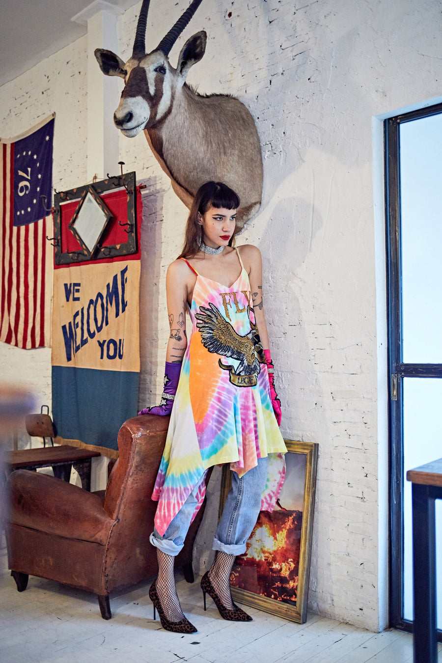 Fly Eagle Dress #13 - I LOVE DIY by Panida