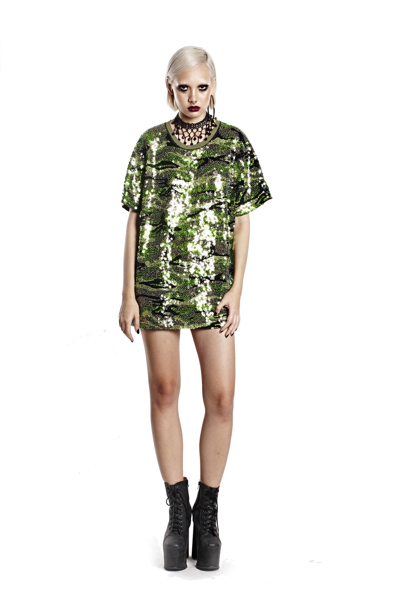 Shimmering Camo Tee