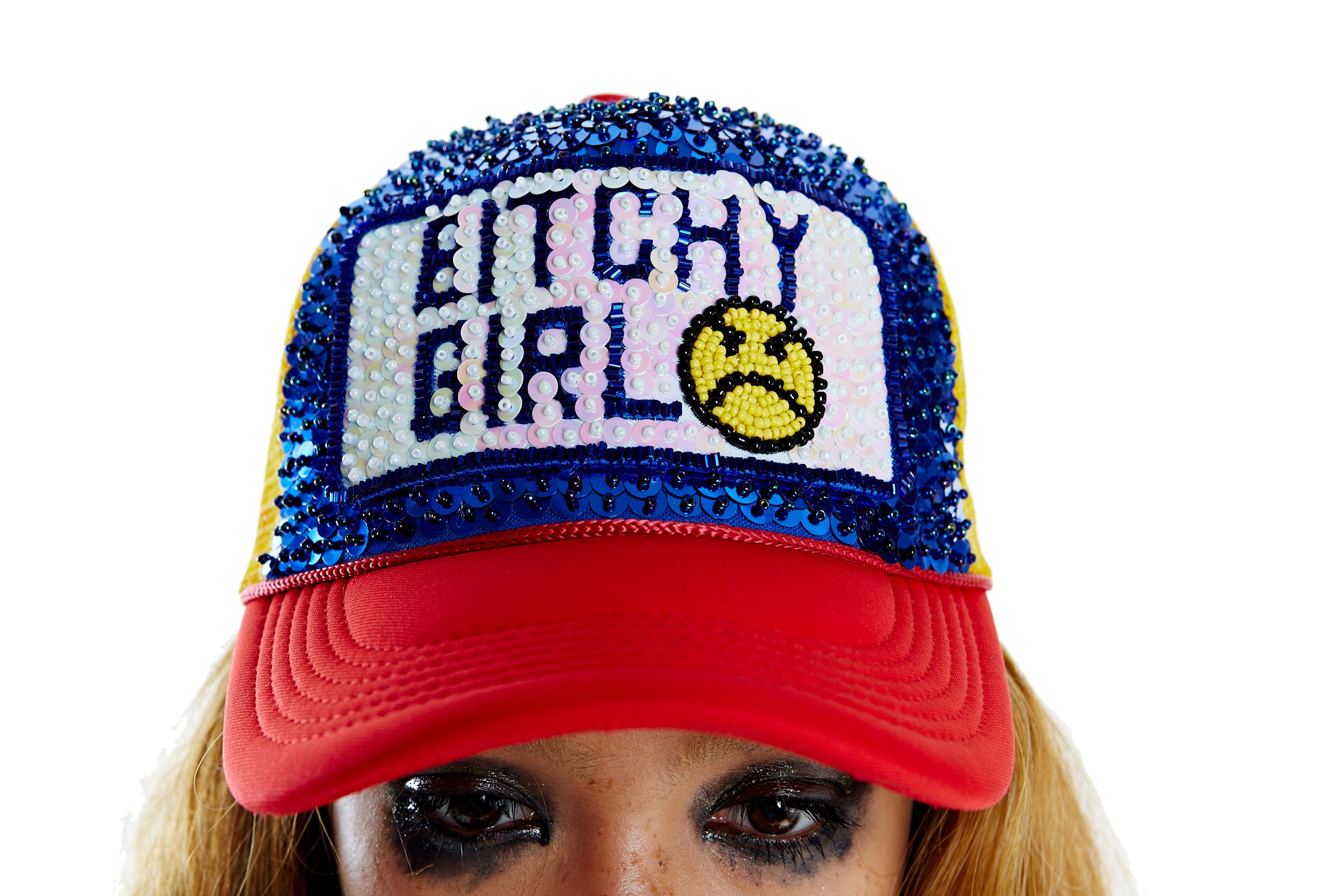 BITCHY GIRL Hat - Tri-color