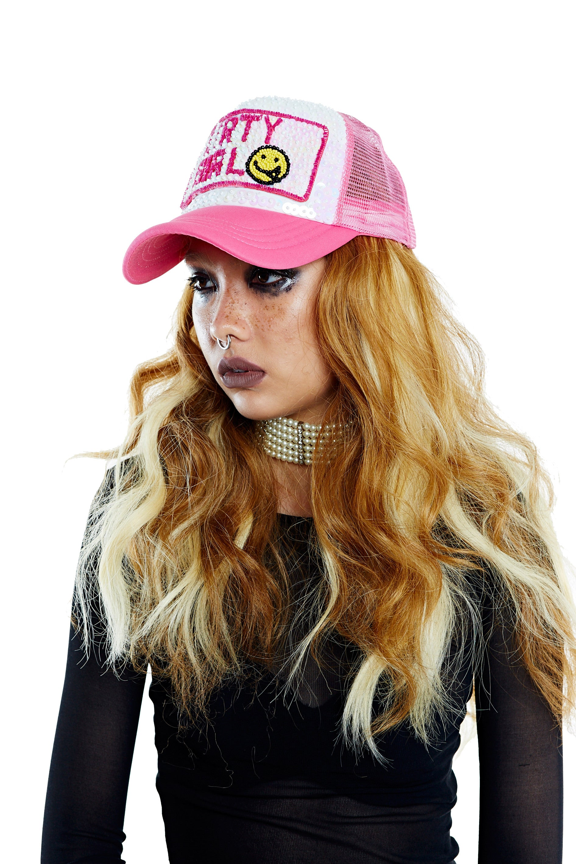 DIRTY GIRL Hat - Pink