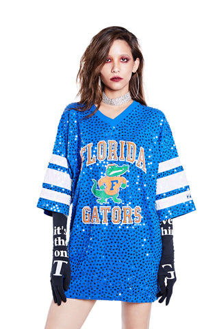 American Football Jersey Top - Florida Gators - I LOVE DIY by Panida