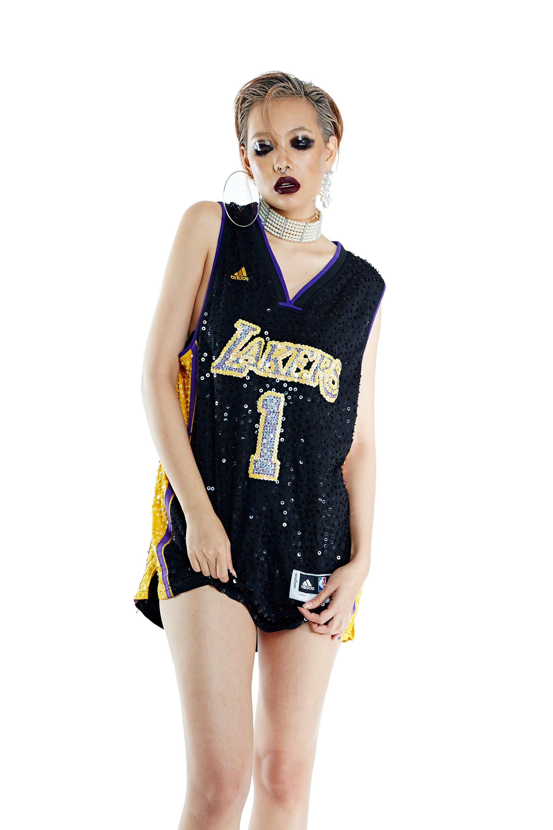 Los Angeles Lakers '1' Russell Thorn Jersey Mod