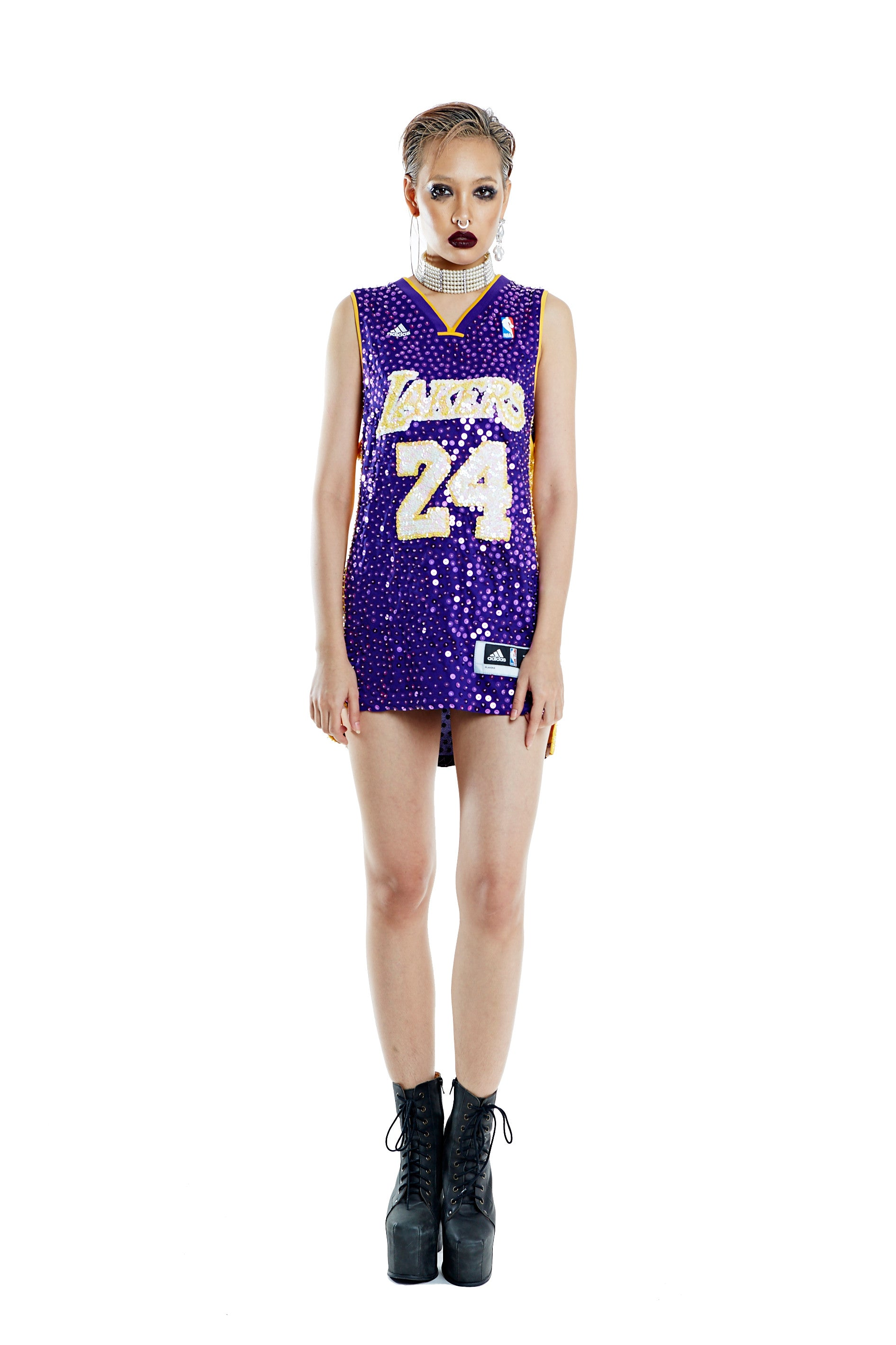 Los Angeles Lakers '24' Bryant Thorn Jersey Mod