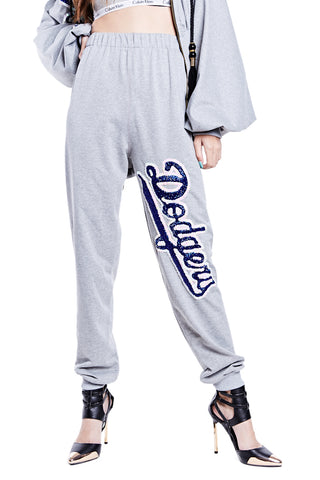 Dodgers Sweatpants - I LOVE DIY by Panida