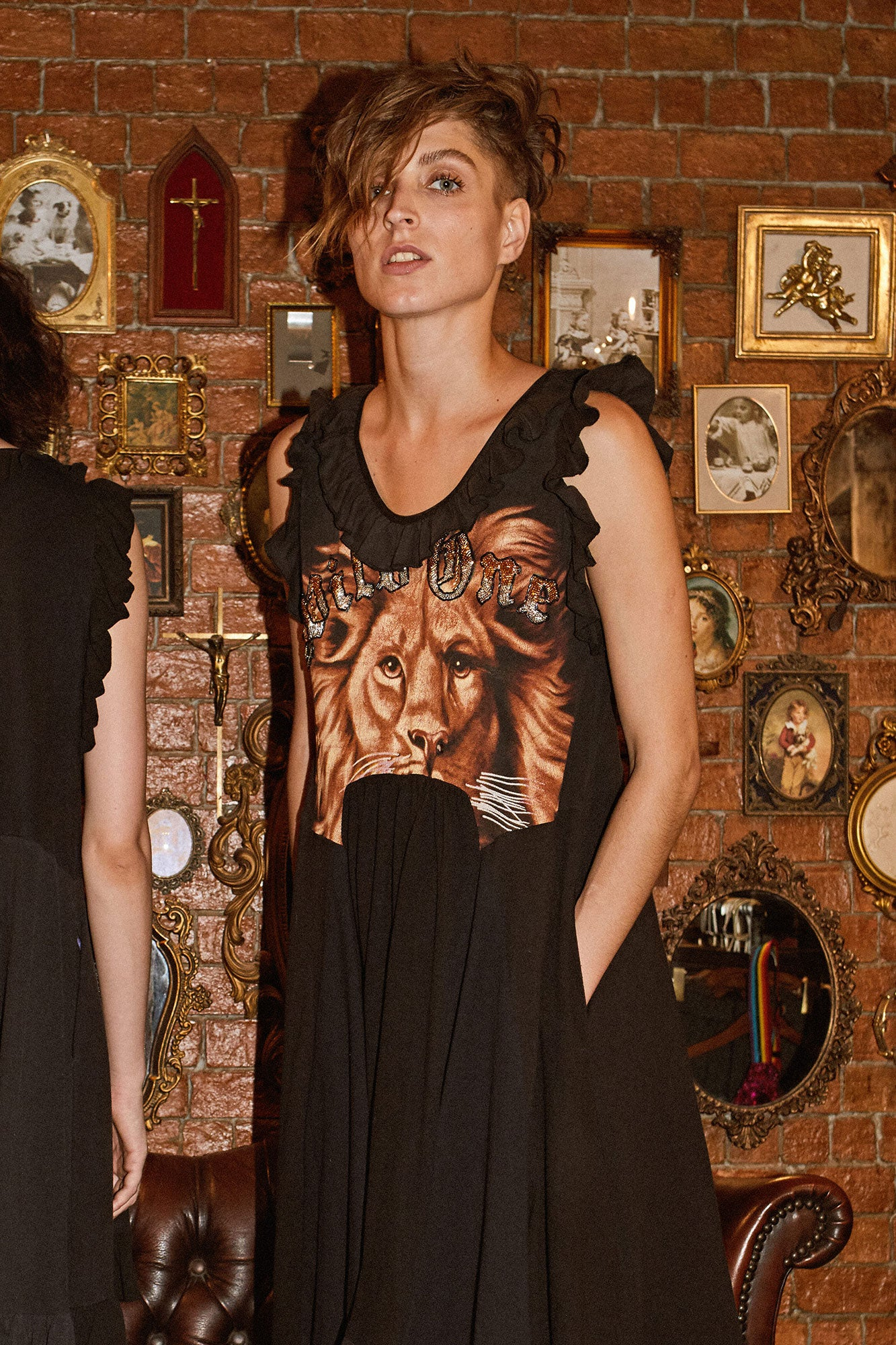 Wild One Dress - Lion