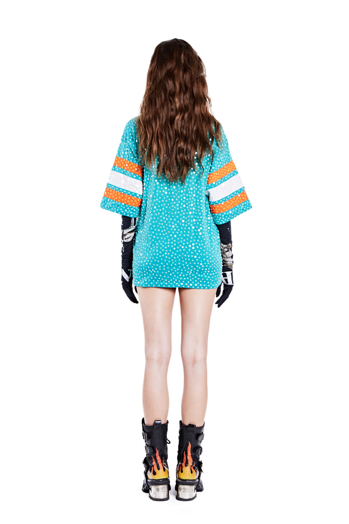 American Football Jersey Top - Miami Dolphins (2) - I LOVE DIY by Panida
