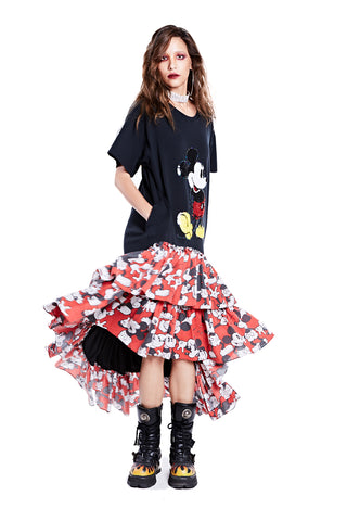 Mickey Dress - White (2)
