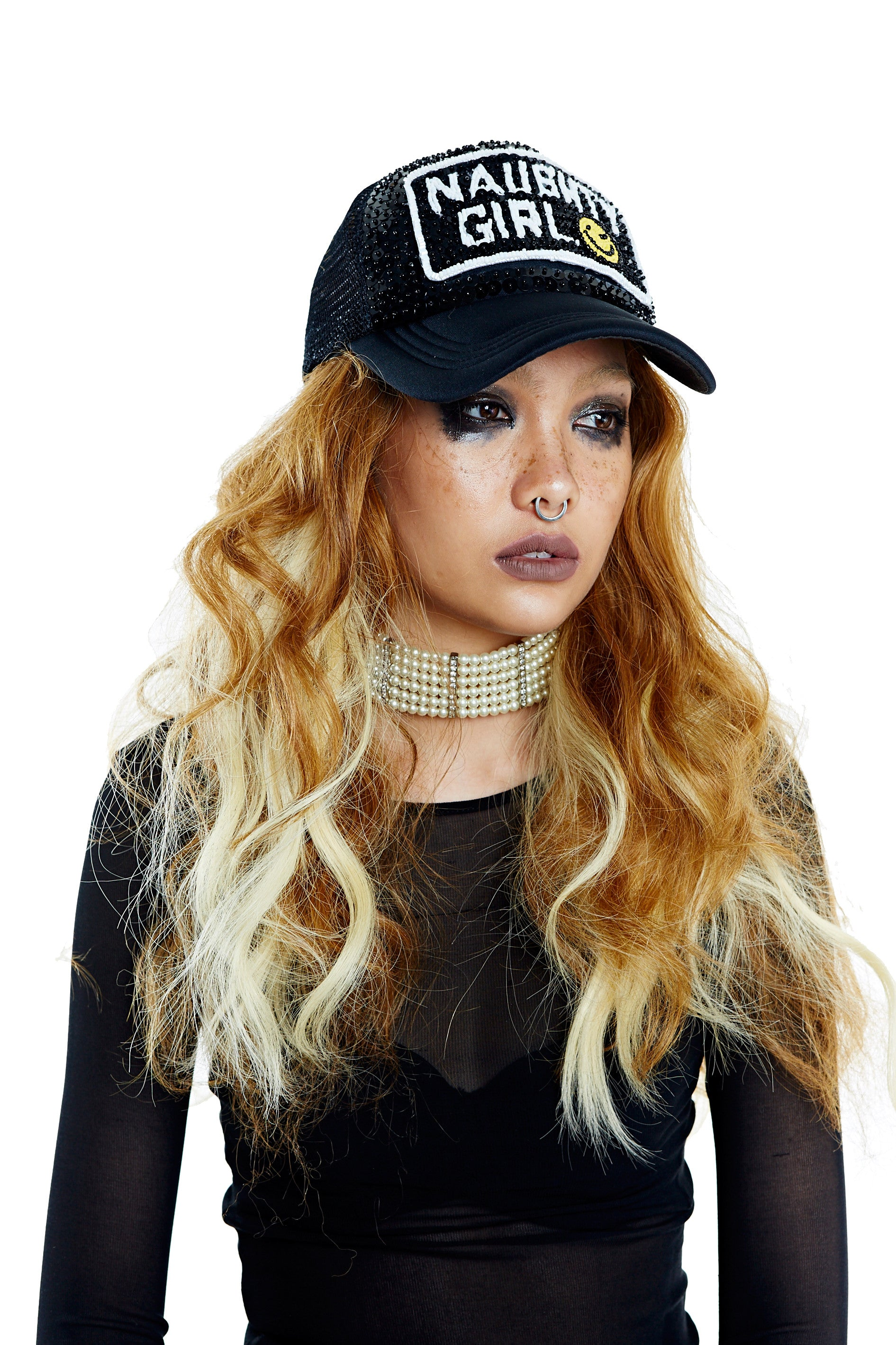 NAUGHTY GIRL Hat - Black
