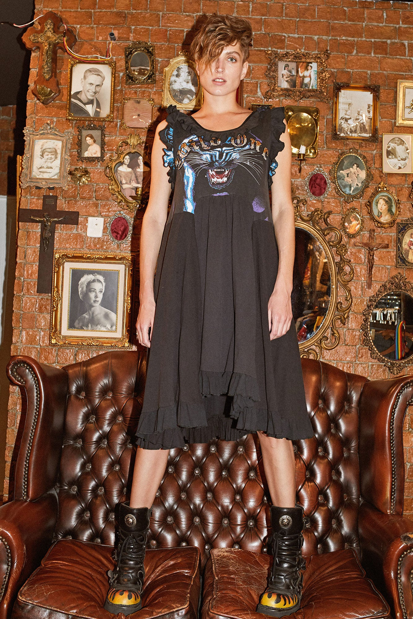 Wild One Dress - Panther (1)