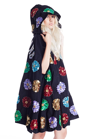 Wonderland Witch Robe - Black