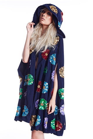 Wonderland Witch Robe - Blue