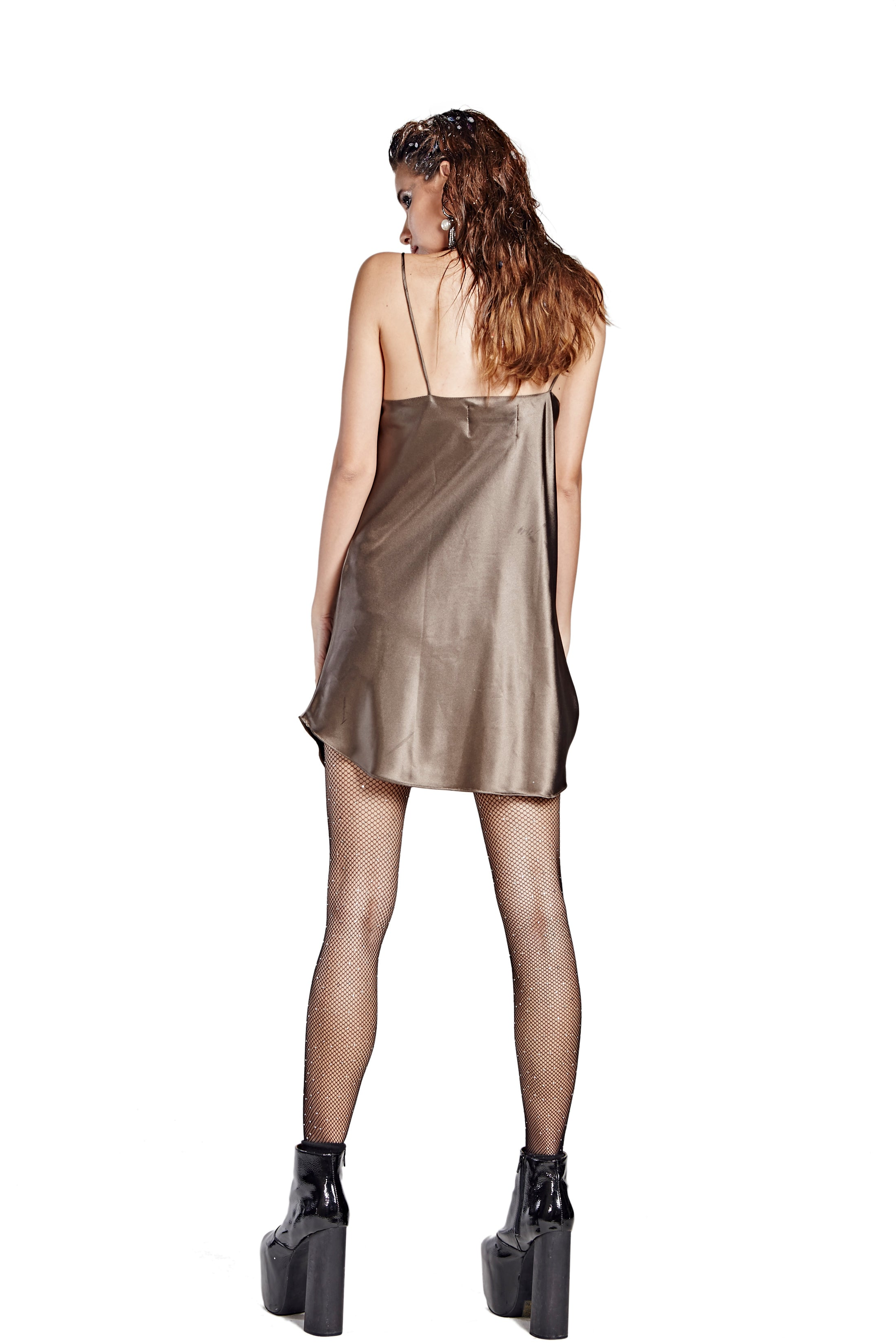 Sleep With Me Night Gown - Brown