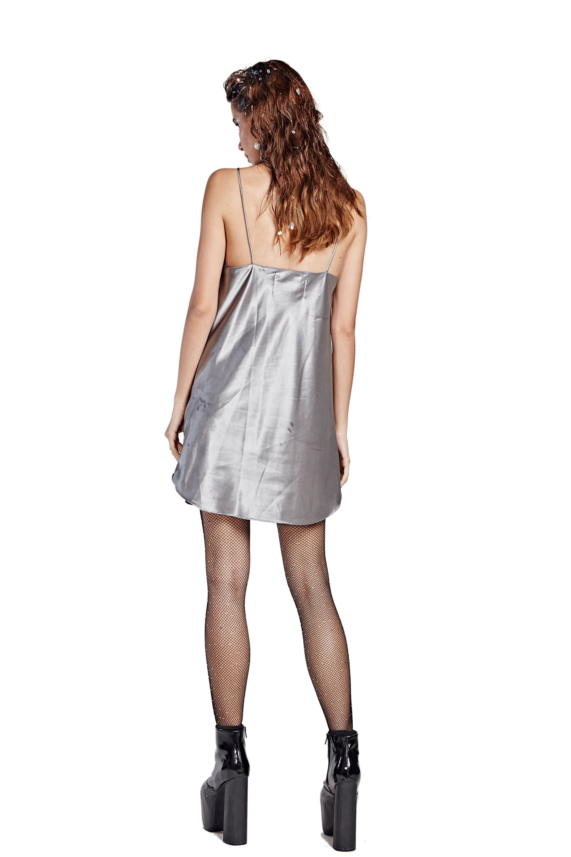 Sleep With Me Night Gown - Gray