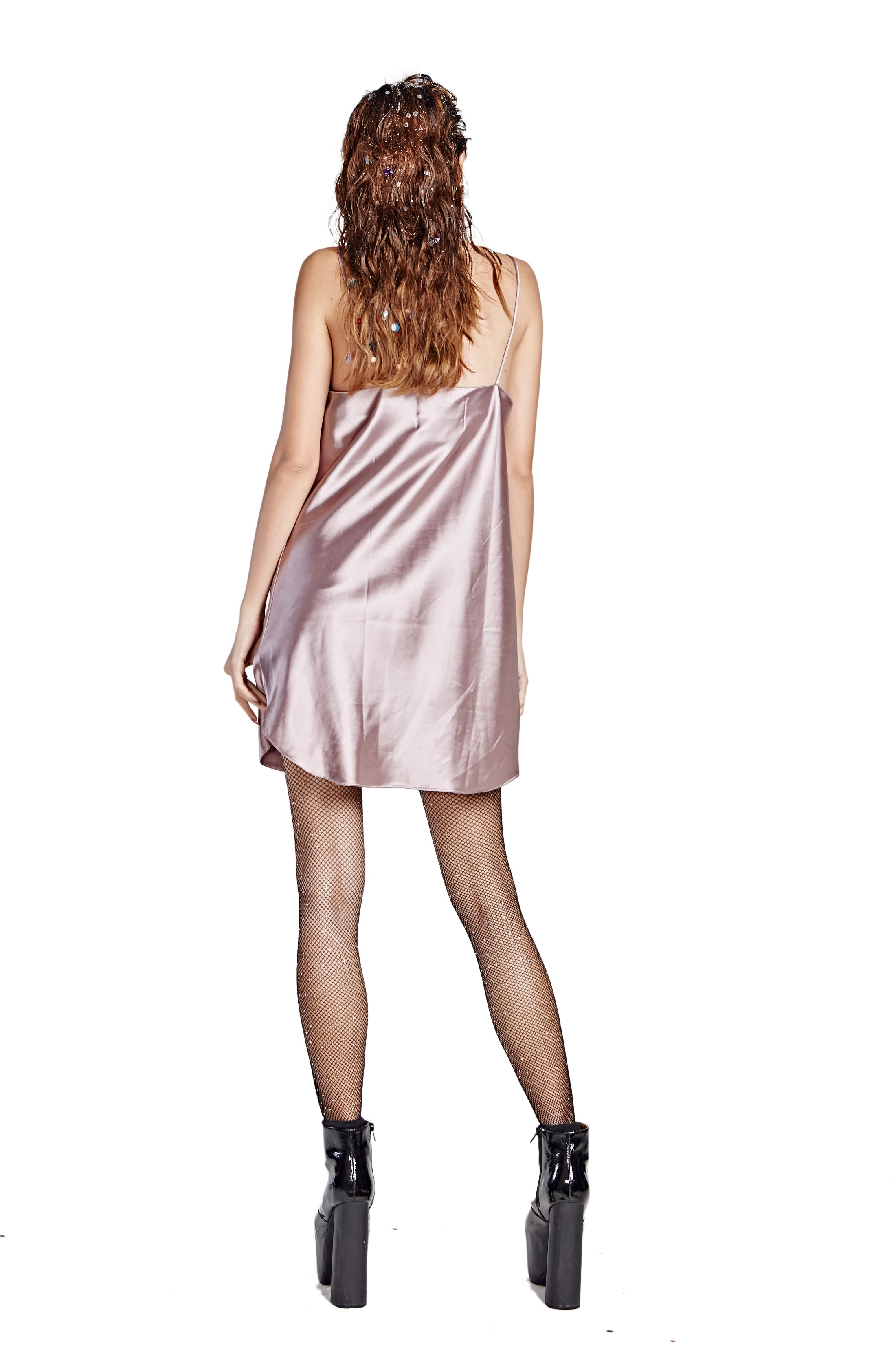 Sleep With Me Night Gown - Dark Pink