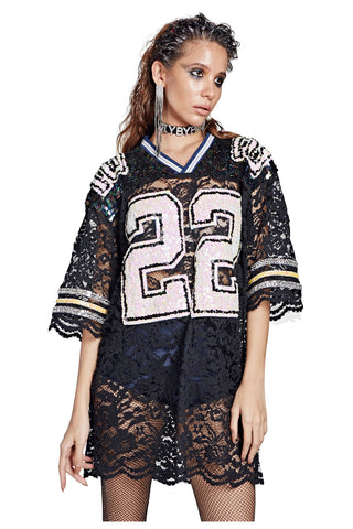 Lace Football Jersey - '22' Emmitt Smith Dallas Cowboys
