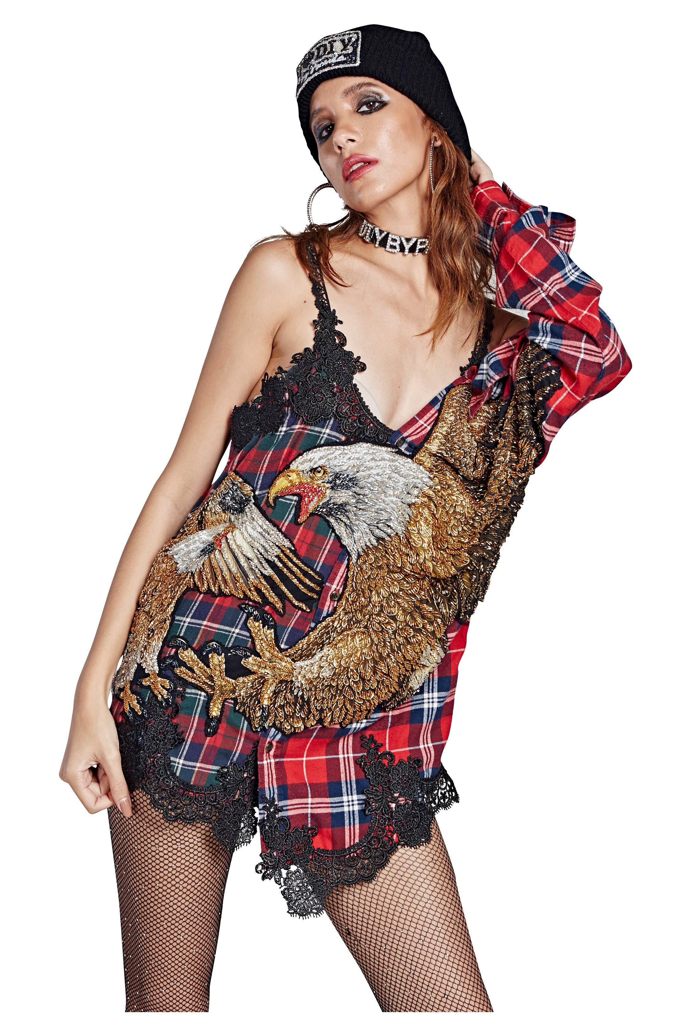 Hybrid Eagle Flannel #8 - I LOVE DIY by Panida