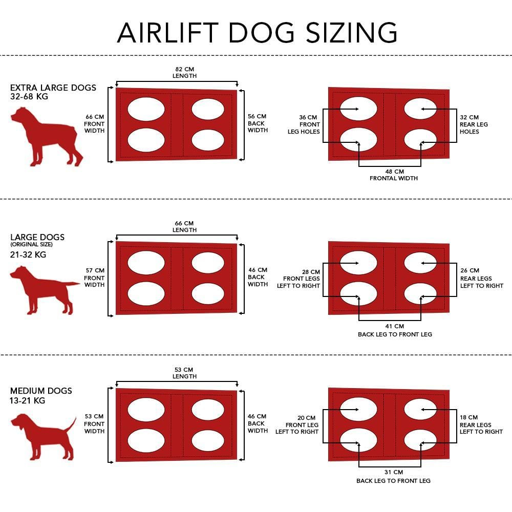 The Airlift by Fido Pro Emergency Dog Rescue Sling