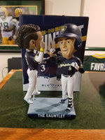 2018 Braun and Arcia Gauntlet Bobblehead w Original Box and Packaging