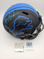 Barry Sanders Lions Signed Autographed Full Size Replica Eclipse Speed Helmet