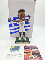 Giannis Antetokounmpo Bucks Signed Autographed Bobblehead LE 2 of 504
