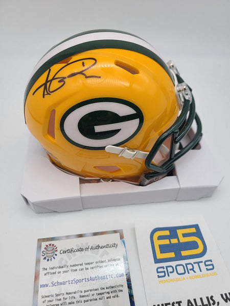 Andre Rison Green Bay Packers Signed Autographed Mini Speed Helmet
