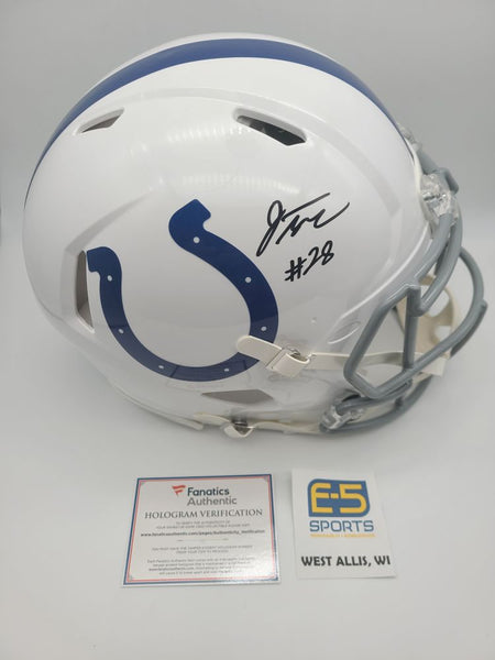 Jonathan Taylor Colts Signed Autographed Full Size Authentic Speed Helmet