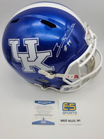 Zadarius Smith Kentucky Packers Signed Autographed Speed Replica Helmet