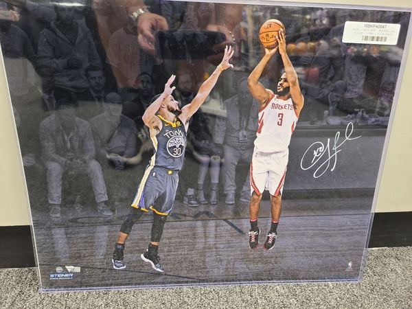 Chris Paul Rockets Thunder Clippers Signed Autographed 16x20 Photo FANATICS