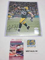 John Kuhn Green Bay Packers Signed Autographed 8x10 Photo JSA #1