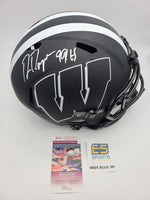 Ron Dayne Badgers Signed Autographed Full Size Replica Eclipse Helmet
