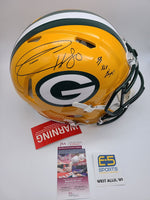 Donald Driver Packers Signed Autographed Full Size Authentic Speed Helmet