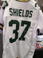 Sam Shields Packers Signed Autographed Custom White Jersey JSA