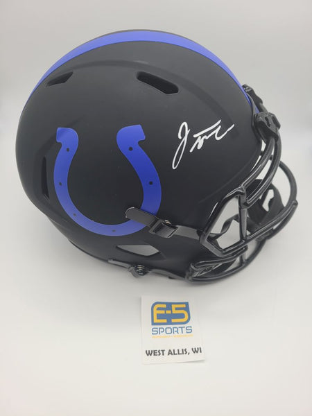 Jonathan Taylor Colts Signed Autographed Full Size Speed Eclipse Replica Helmet