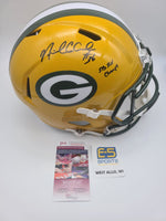 Nick Collins Packers Signed Autographed Full Size Replica Speed Helmet SB Champs