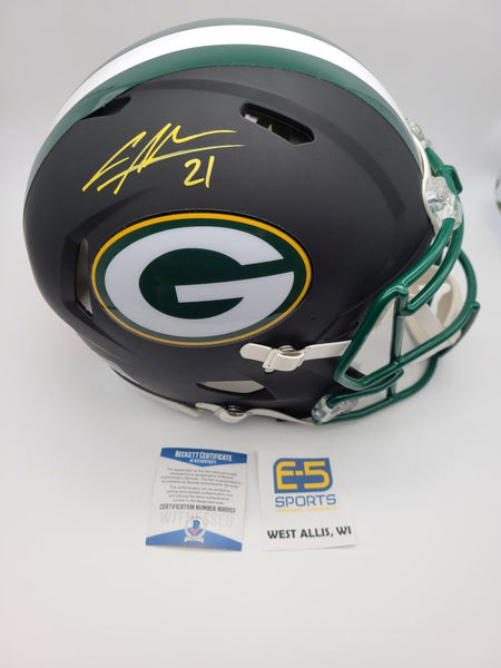 Charles Woodson Packers Signed Autographed Full Size Black Authentic Helmet
