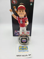 Steve Young 49ers Ring Base Bobblehead w Original Box and Packaging