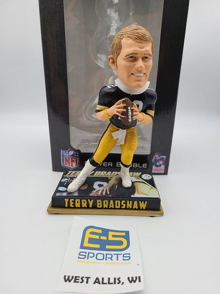 Terry Bradshaw Steelers Legends Bobblehead w Original Box and Packaging
