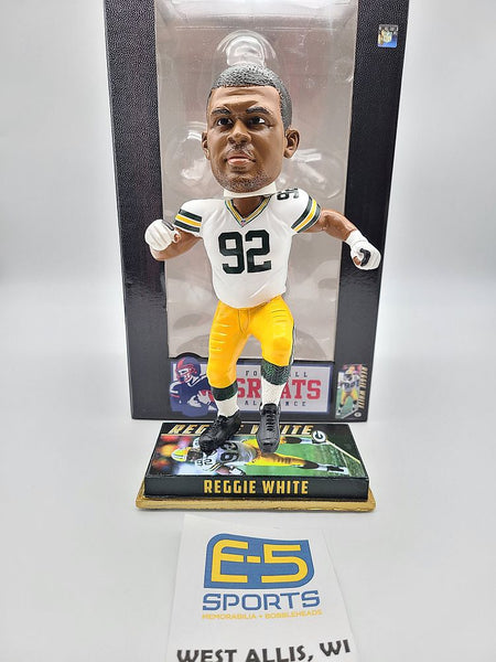 Reggie White Packers Legends Bobblehead w Original Box and Packaging