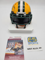 Gilbert Brown Packers Signed Autographed Mini Speed Helmet VISOR