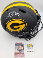 Davante Adams Packers Signed Autographed Full Size Replica Eclipse Helmet