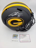 Charles Woodson Packers Signed Autographed Full Size Replica Eclipse Helmet